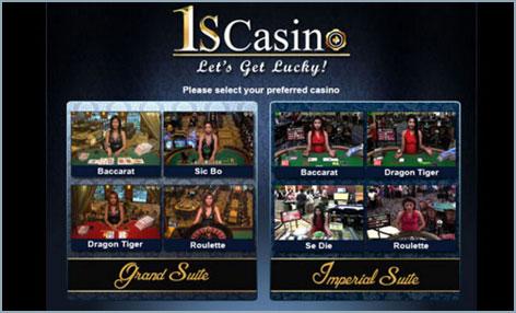 1scasino games