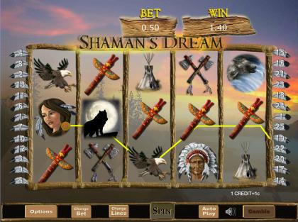 SBobet Slot winner Shamans Dream