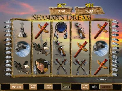 shamans-dream slot sbobet