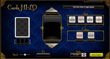 How to play Cards Hi-Lo SBobet
