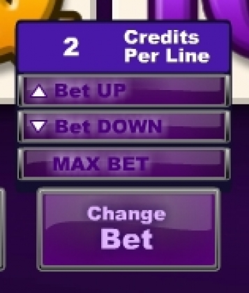 Cup Canaval Slot change bet