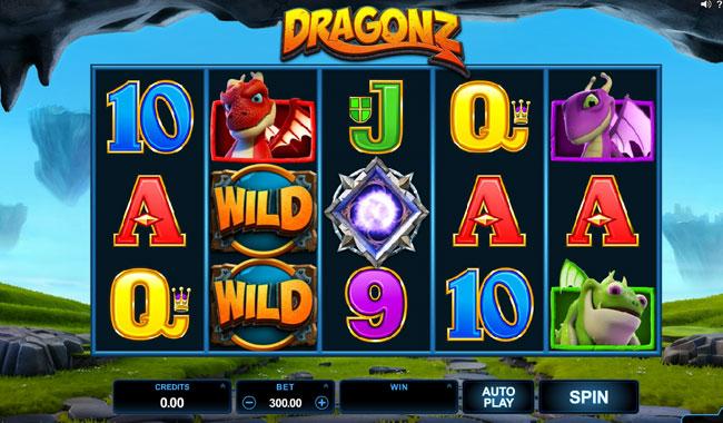 dragonz slot online