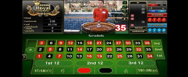 royal1688 roulette