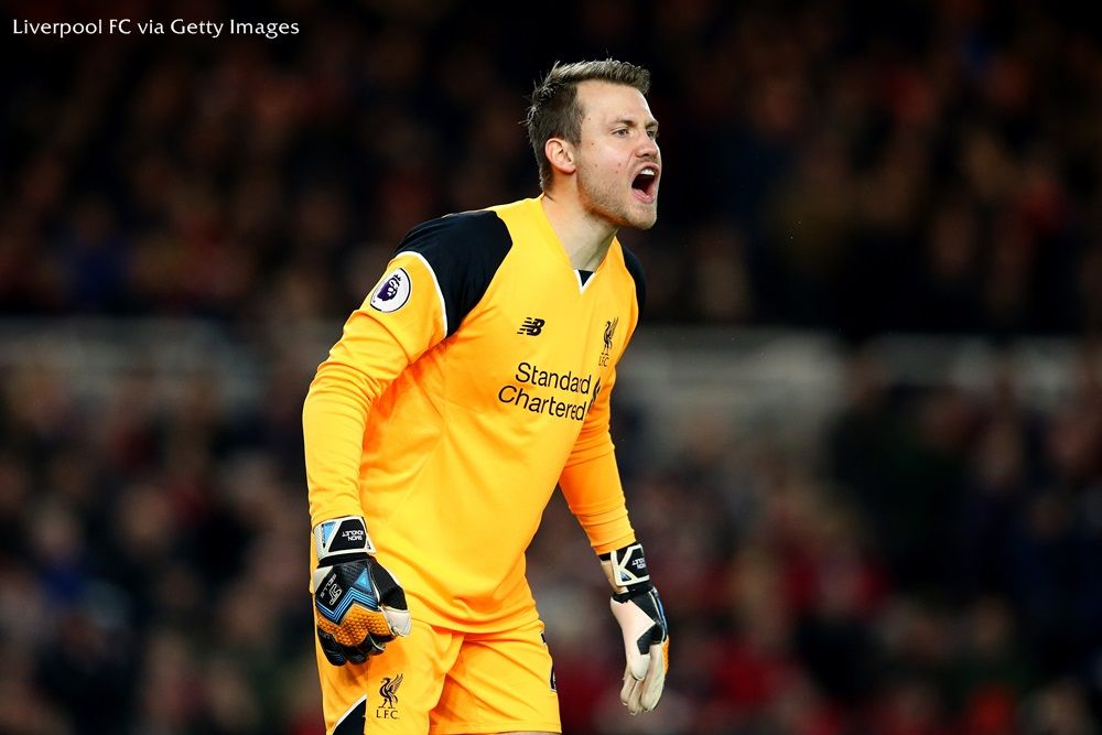 Simon Mignolet by sbobet mobile