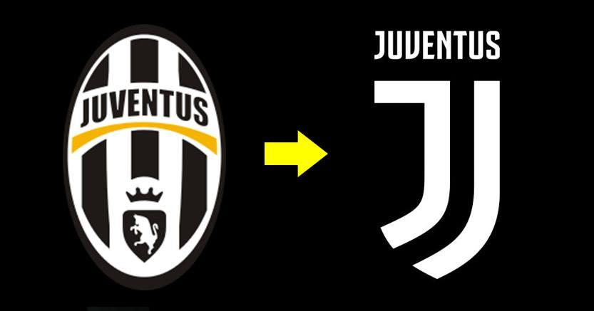 juventus change new logo by sbobet group