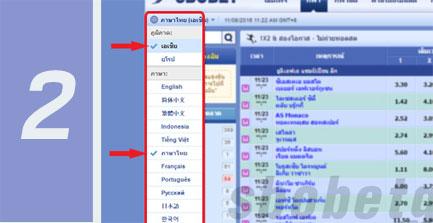 แทงบอลออนไลน์ ภาษาไทย