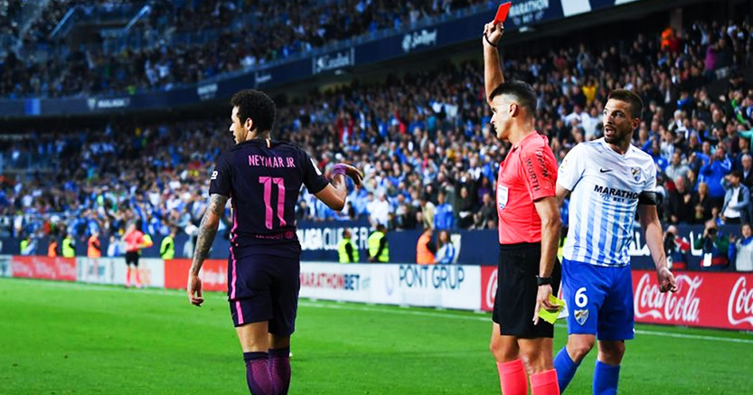 neymar baned laliga spain ข่าวฟุตบอล SBobet