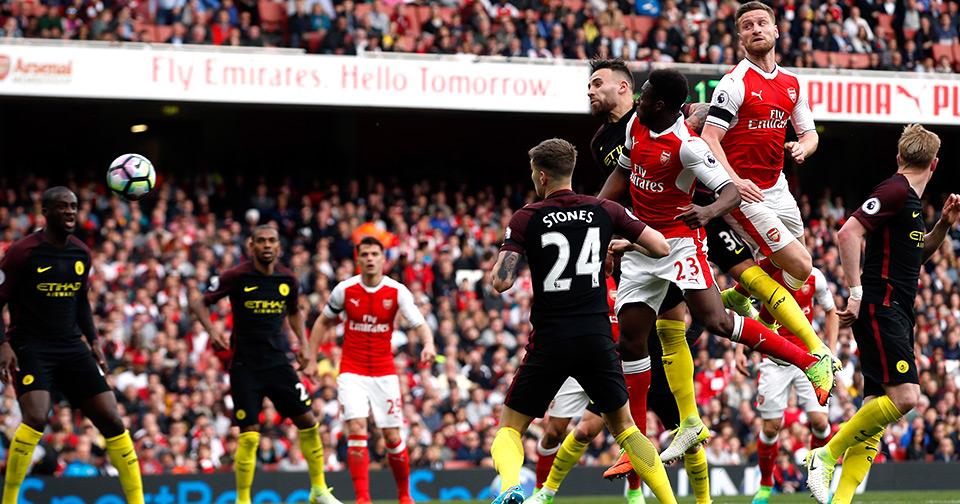 ไฮไลท์ฟุตบอล พรีเมียร์ลีก Arsenal-vs-ManchesterCity