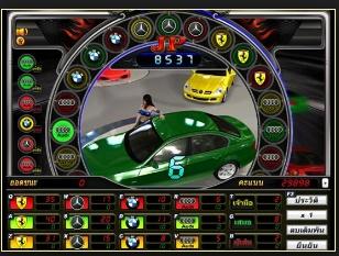 วิธีเล่นเกมส์รถแข่ง